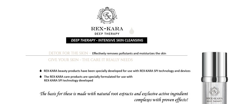 REX-KARA DEEP THERAPY Skin cleansing - Detox for the skin
