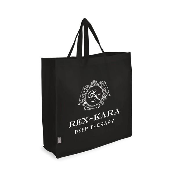 Bag XXL black with REX-KARA logo